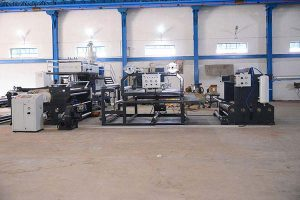 WOVEN BAG LAMINATION MACHINE