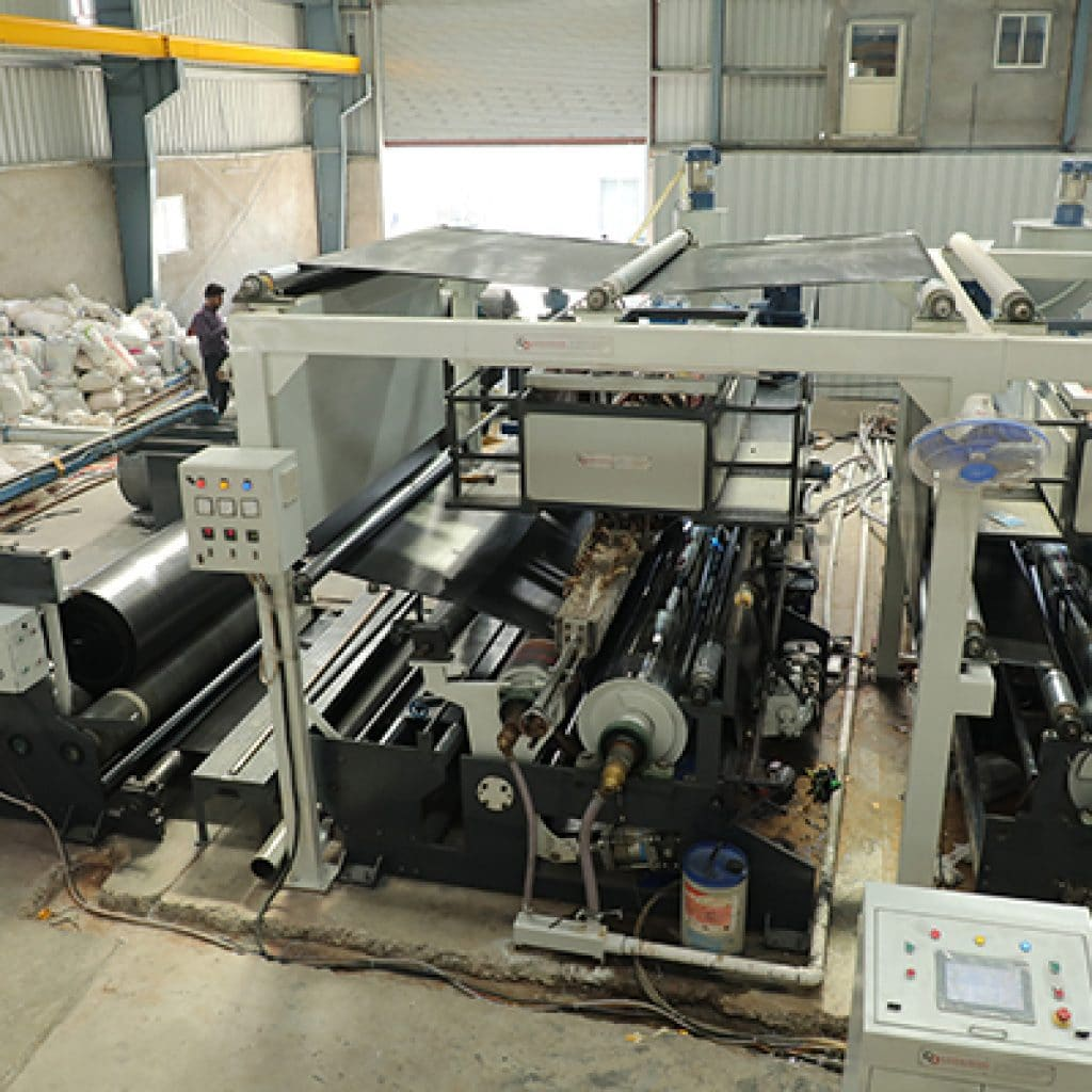 FIBC BAG LAMINATION MACHINE