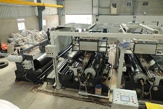 FIBC Bag Lamination Machine - FIBC Extrusion Coating Lamination Plant